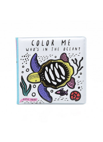 Bath Book - Color Me - Who's in the ocean?