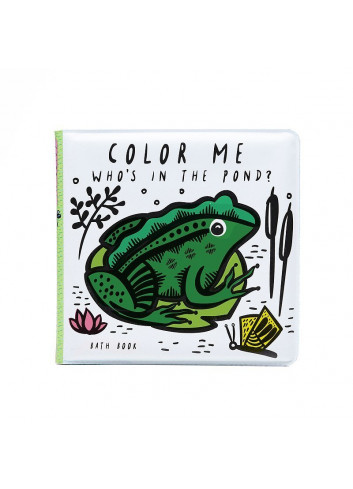 Bath Book - Color Me - Who's in the pond?
