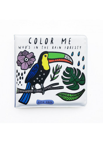 Bath Book - Color Me - Who's in the rainforest?