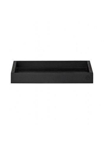 Wooden tray UNITY XL - black oak