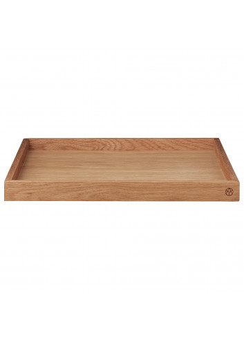 Wooden tray UNITY XL - oak
