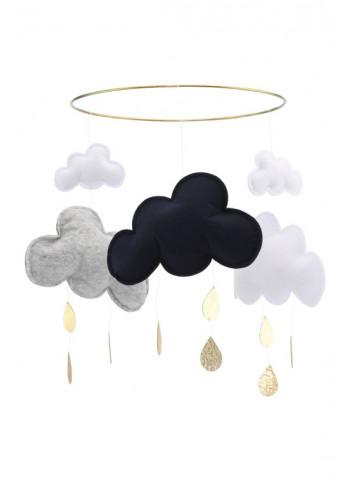 Mobile clouds grey/dark blue