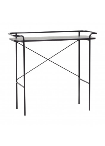 Console table - black